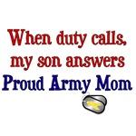 When Duty Calls - Mom
