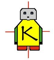 Karel J Robot Logo Gear