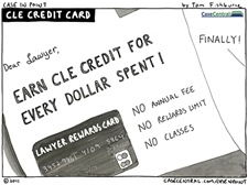 5/2/2011 - CLE Credit Card
