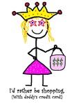 The smart Princessitude! shopper!
