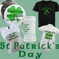 St Patrick's Day & St Patrick's Day Birthday Items
