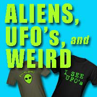 UFOs, Aliens, Houdini, Supernatural Stuff