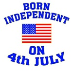 Born Independent on 4th of July!