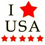 I Love the USA! I Heart USA