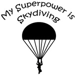 My Superpower is Skydiving T-shirts, Gifts