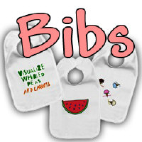 Baby Bibs- Cute and funny!