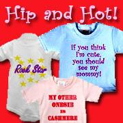 Who Says Baby Clothes Can't be Hip?