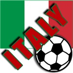 World Soccer ITALY Team T-shirts
