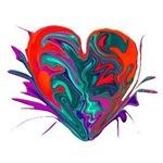 Heart Splash CB