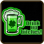 Drink Up The Green Beer