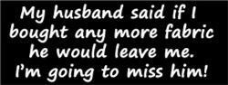 My Husband Said He Would Leave Me