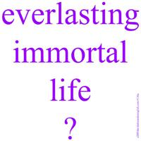 116.purple everlasting immortal life..?