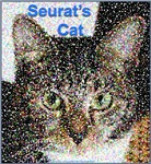 Seurat's Cat