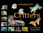 Critters - Wall Calendar of wild animals and birds