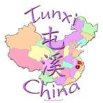 Tunxi, China Map