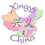 Xinyi China Map