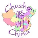 Chuzhou China Color Map