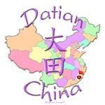 Datian China Color Map