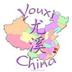 Youxi China Color Map