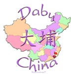 Dabu China Color Map
