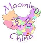 Maoming China Color Map