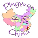 Pingyuan China Color Map
