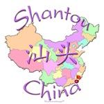 Shantou China Color Map