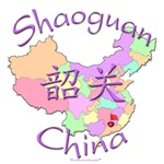 Shaoguan China Color Map