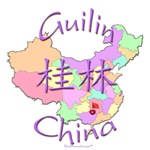 Guilin China Color Map