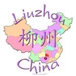Liuzhou China Color Map