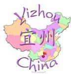 Yizhou China Color Map