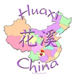 Huaxi China Color Map