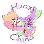 Huaxi China Color Map