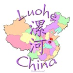 Luohe Color Map, China