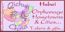 Hubei Orphanage Cities and Hometowns