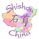 Shishou Color Map, China