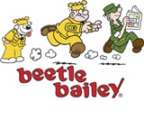 Otto, Sarge, and Beetle Chase
