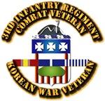 Army - 3rd Infantry Regiment w Korean Svc