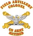 Artillery - Officer - COL - Retired