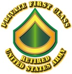 Army - Private First Class - Retired