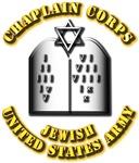 Army - Chaplin Corps - Jewish w Text