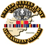 Army - Combat Medic w Afghan SVC Ribbon
