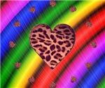Rainbow Groovy Heart