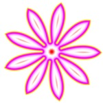 Groovy Pink Daisy Type Flower