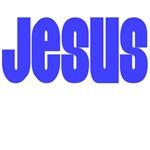 Jesus T Shirts (Blue)