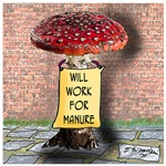 Will Work For Manure