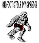 BIGFOOT STOLE MY SPEEDO!