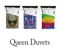 Peaceful Queen Duvets