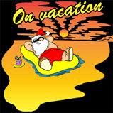 Santa's On Vacation