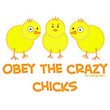 Obey The Crazy Chicks